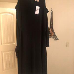 Michael Kota little black dress size 1X